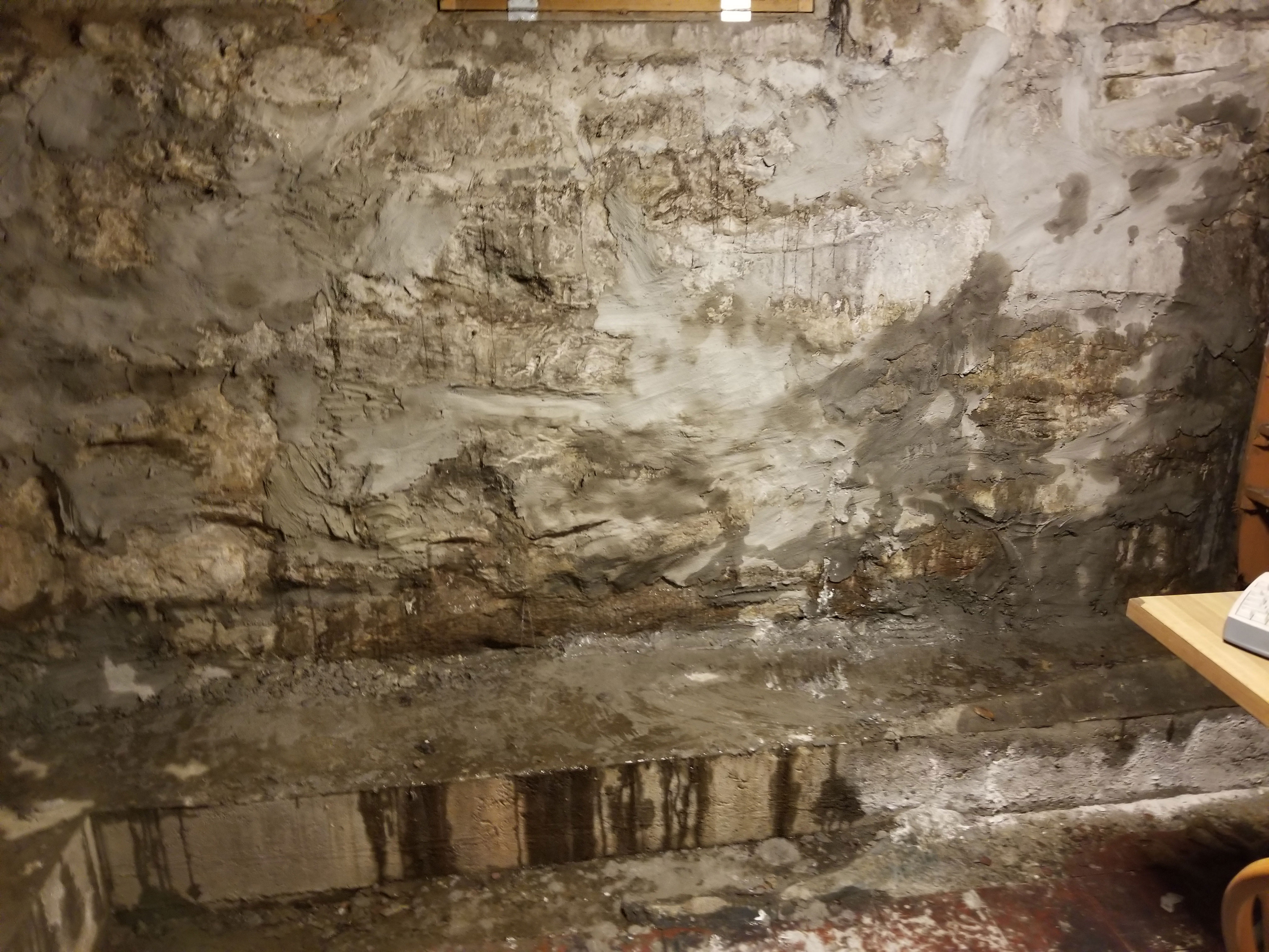 Stone Foundation Repair Crack Repair And Waterproofing In