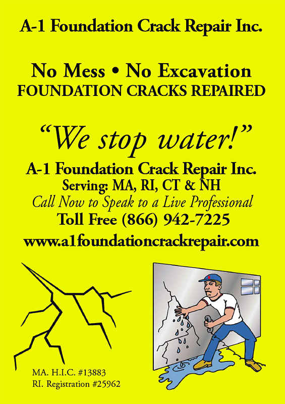 We Stop Water! - Foundation Cracks Repaired