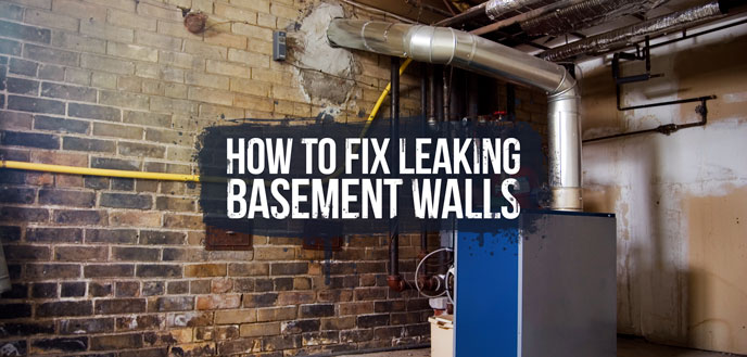 How To Repair Basement Leaking Walls | TcWorks.Org