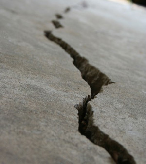 Superb Concrete Floor Crack. U201c