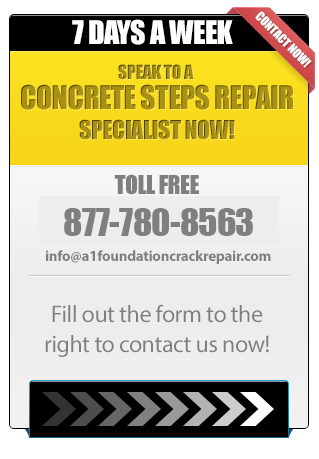 Speak to a Concrete Steps Repair Specialist Now!
